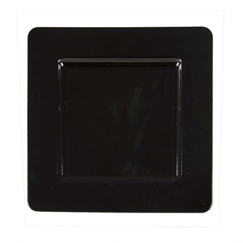 BLACK Square Charger Plate / Underplate
